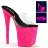 FLAMINGO-801UVG Clear/Neon Hot Pink